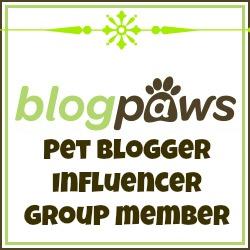 I am a BlogPaws Pet Blogger Influencer